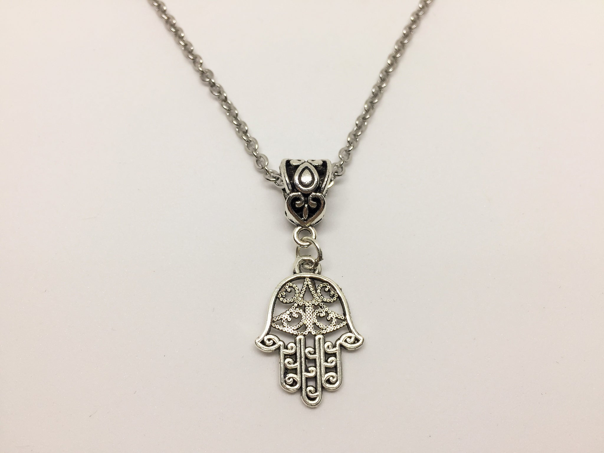 The Hand of Hamsa Pendant
