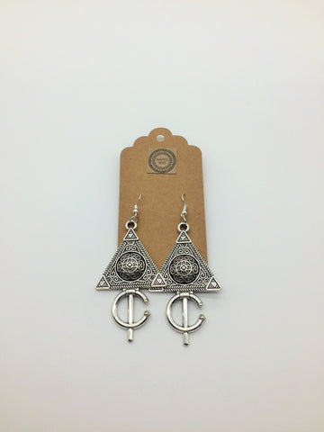 Woman Warrior Earrings