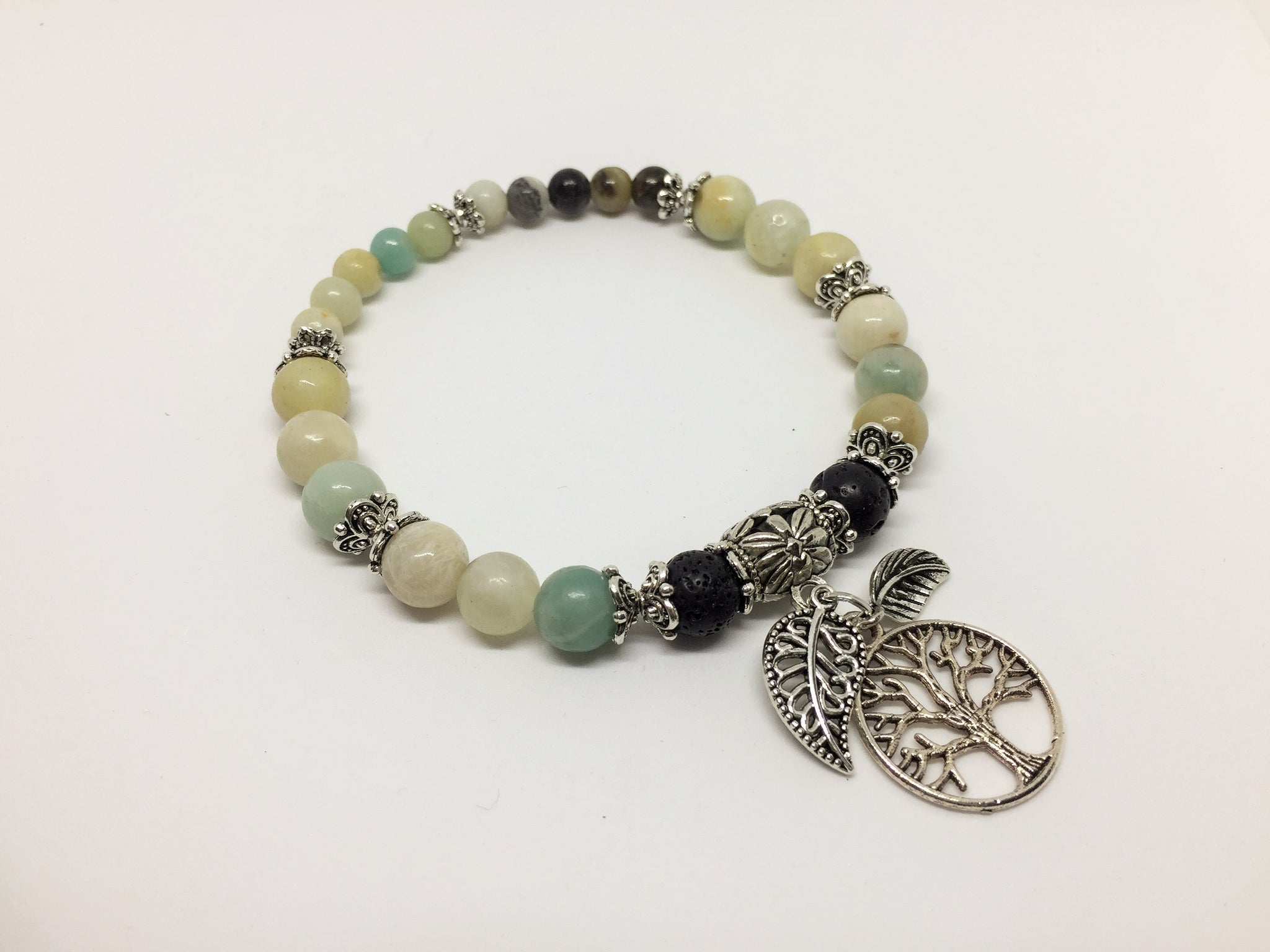 Amazonite Calming & Balancing CrystalAroma Jewellery