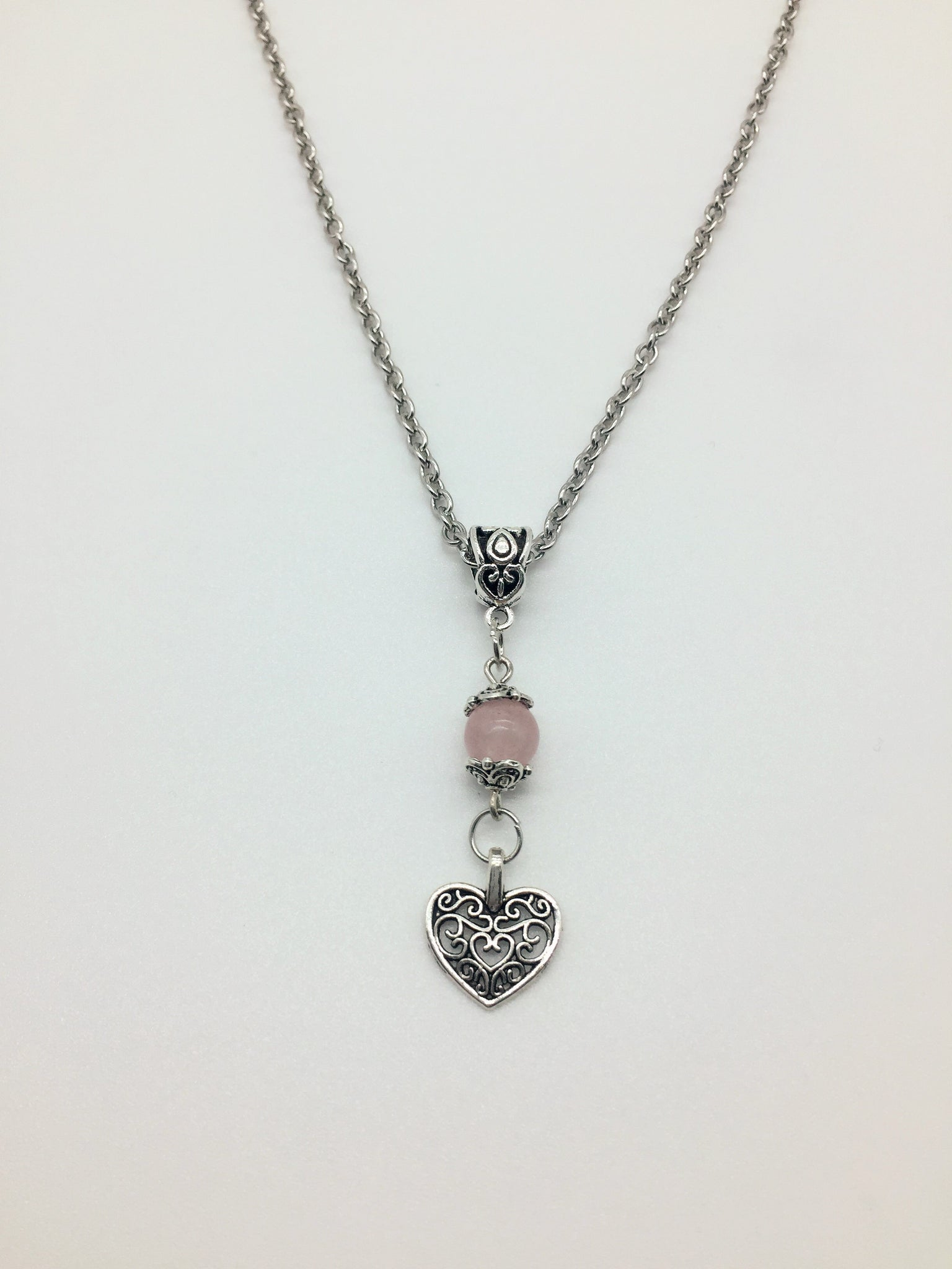 Rose Quartz Unconditional Love Pendant