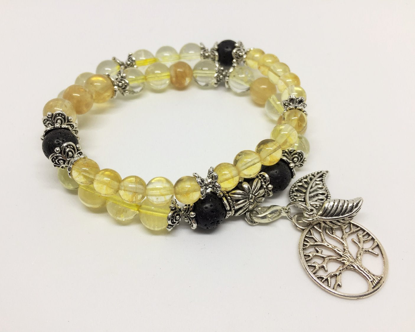 Citrine Positivity & Happiness Aroma Jewellery