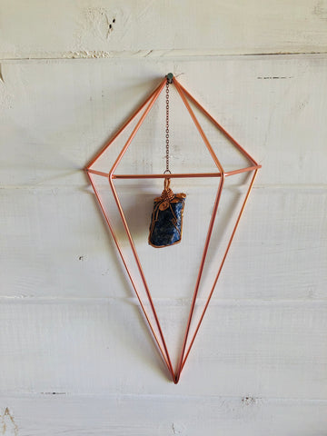 Crystal Protection Wall Hanging Lapis Lazuli