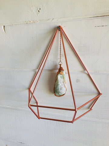 Crystal Protection Wall Hanging Amazonite
