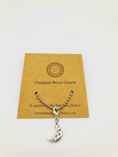 Wicca Crescent Moon charm