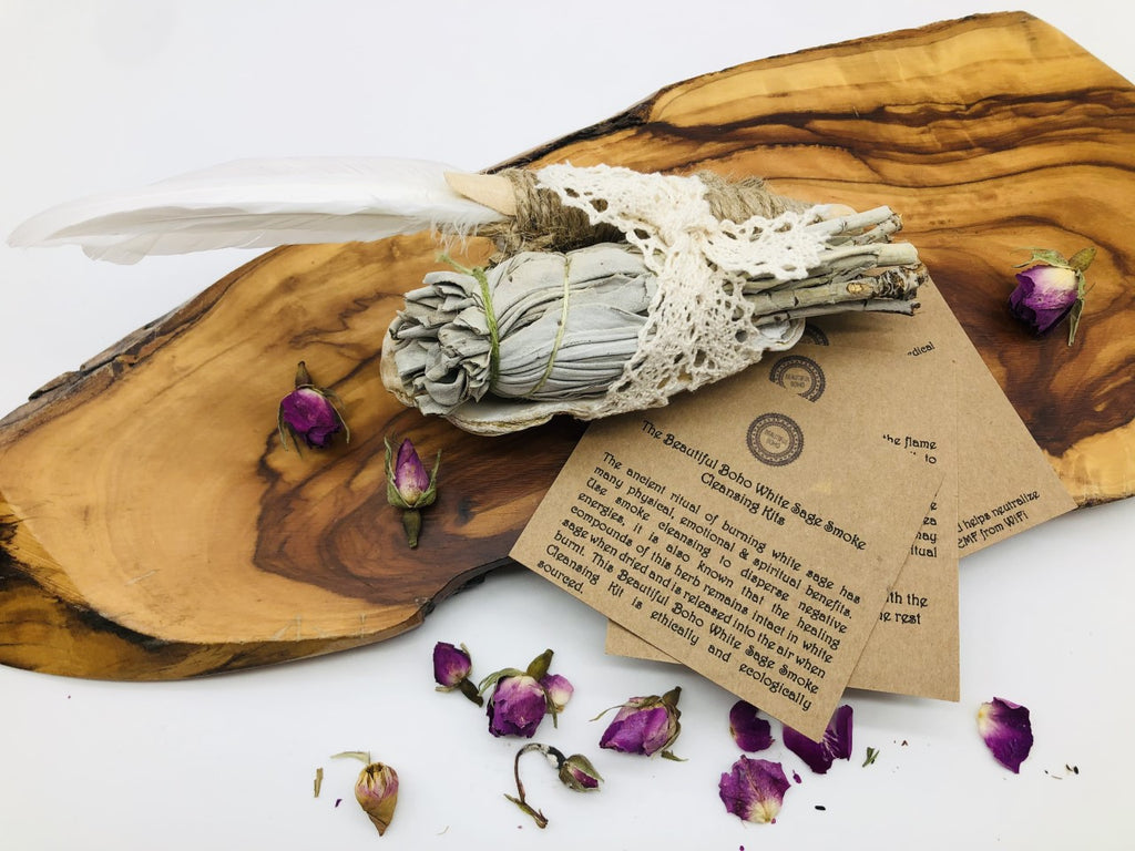 White Sage Smoke cleansing Kit