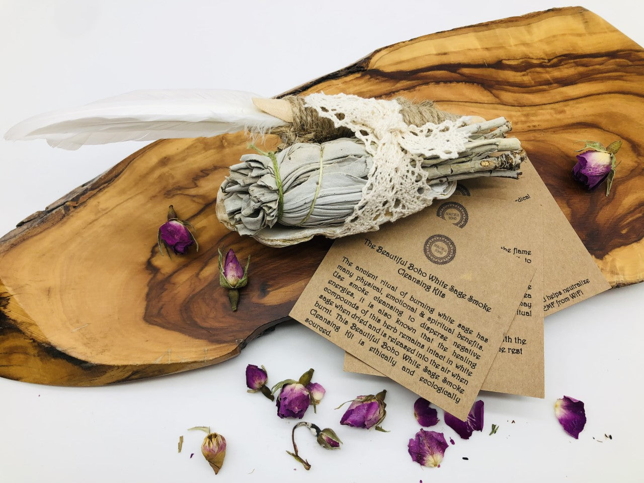 Welcome in the summer White Sage Smoke cleansing Kit