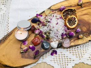 Sacred Intention Bath Ritual bags