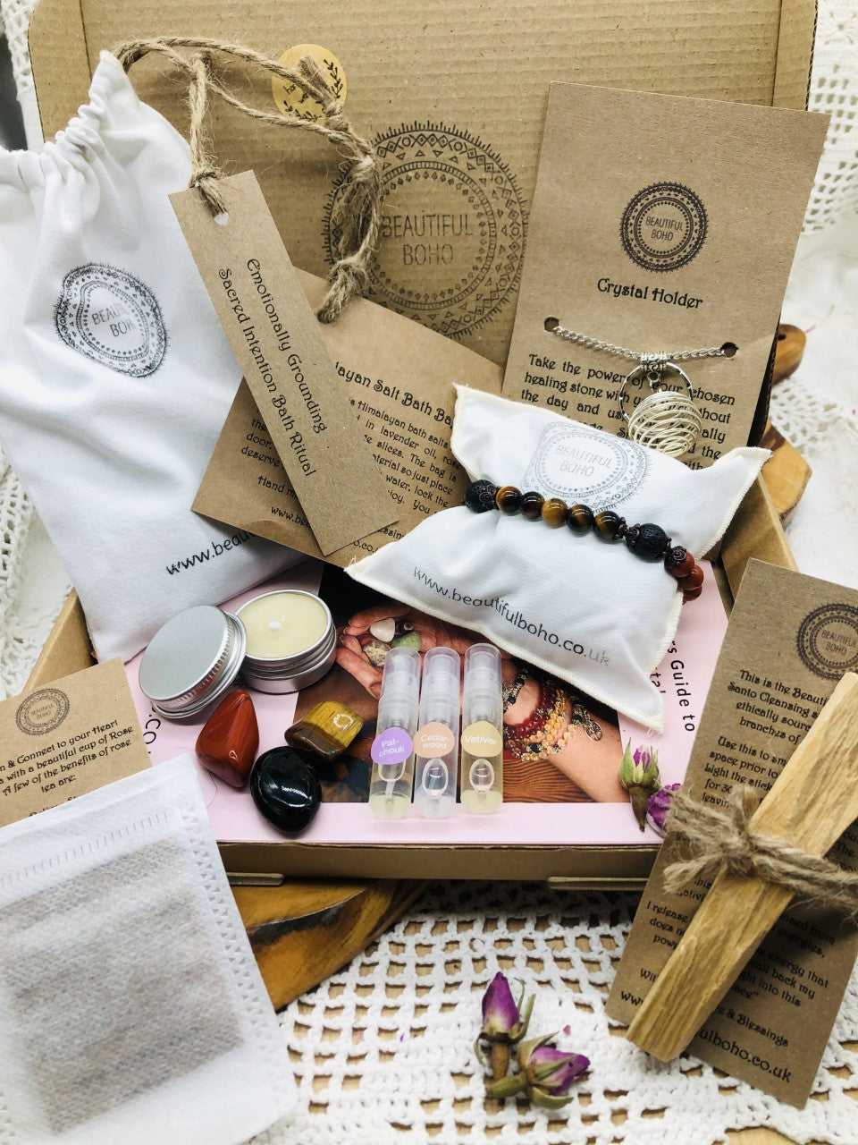 Calming & Balancing Intention Ritual Blessings Box