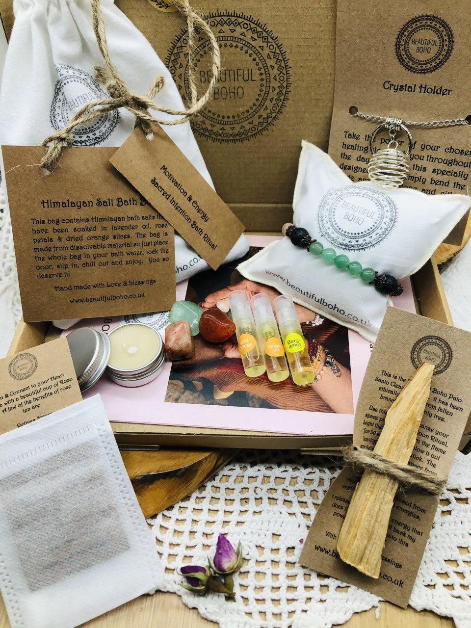 Motivation & Energy Intention Blessing Box