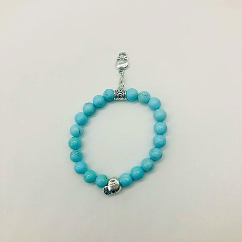 Wicca Turquoise Successful Communication Spell casting Bracelet