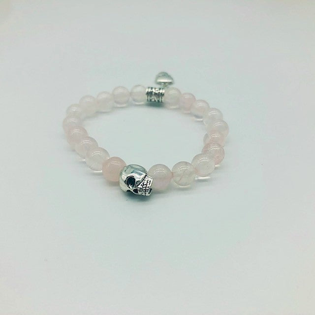 Wicca Rose Quartz Unconditional Love  Spell casting Bracelet