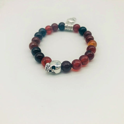 Wicca Carnelian Motivation & Energy  Spell casting Bracelet