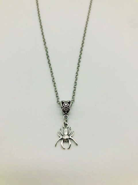 Wicca Spider Pendant