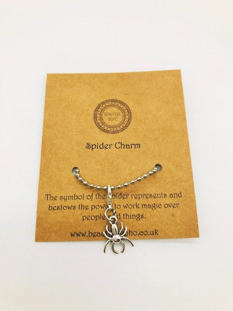 Wicca Spider Charm
