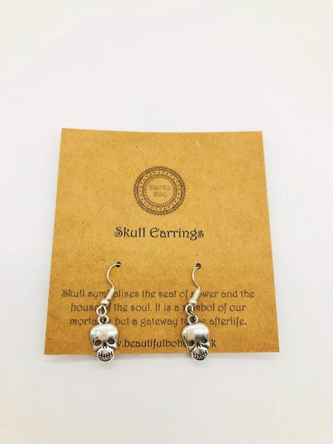 Wicca Skull Earrings