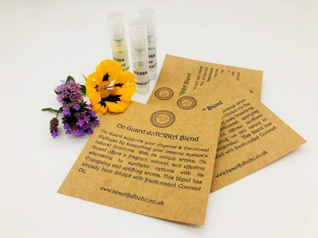 Motivational & Energising Essential Oil Collection