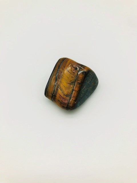 Emotionally grounding Tigers Eye Healing Stone encouraging Creativity & spiritual Awareness & Protection & negativity Deflection