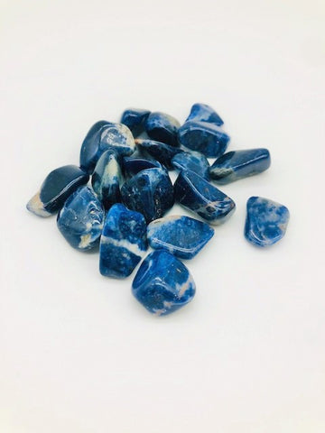 Sodalite Protection & Negativity deflection Healing stone with information pack
