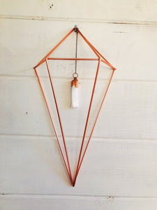 Creativity & Spiritual Awareness Selenite Crystal Wall Hanging