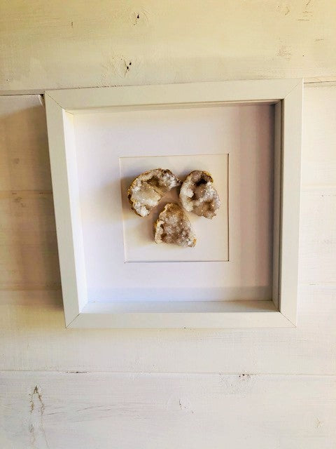 Home Purifying Geode Wall Hanging Large Cluster