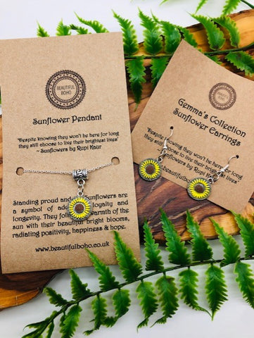 Sunflower Gift Set