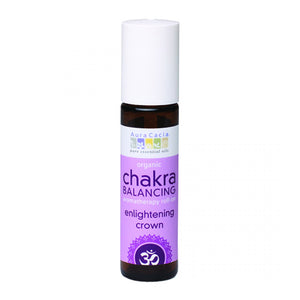 Organic Enlightening Crown Chakra Balancing Roll Aura Cacia On 0.31 fl. oz.