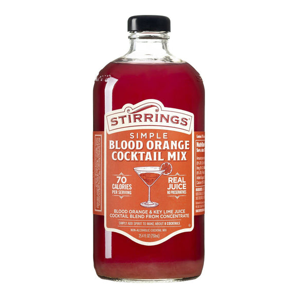 Blood Orange Cocktail Mix