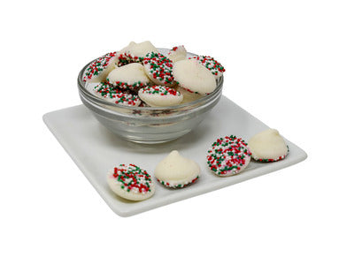 Christmas Mint Drop Nonpareils