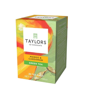 Mango & Cardamom Green Tea: 20 Wrapped Tea Bags