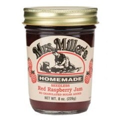 No Sugar Added Red Raspberry Jam (Seedless)