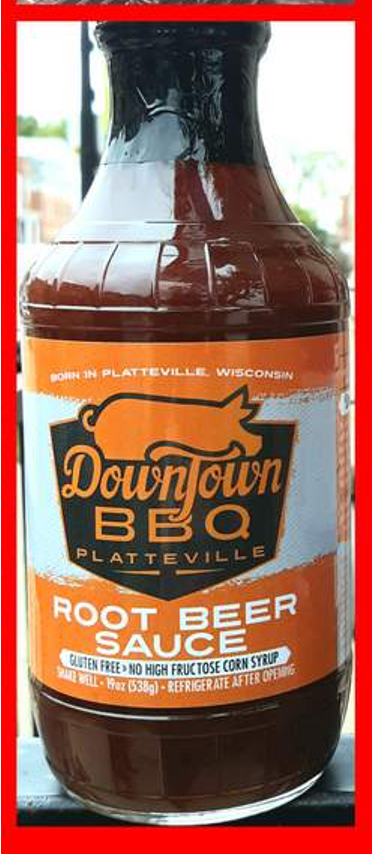 Downtown BBQ Root beer Sauce