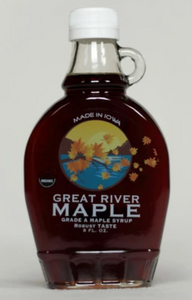 Great River Maple Organic Grade A Robust Maple Syrup