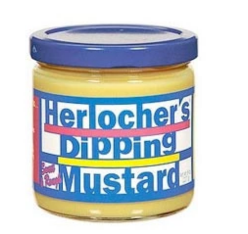 Herlocher's Dipping Mustard 8 oz