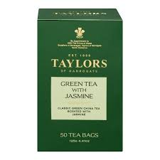 green tea with jasmine bags