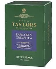 Taylors Earl Grey Green Tea Bags 50 ct