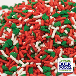Christmas Tree Sprinkle Mix