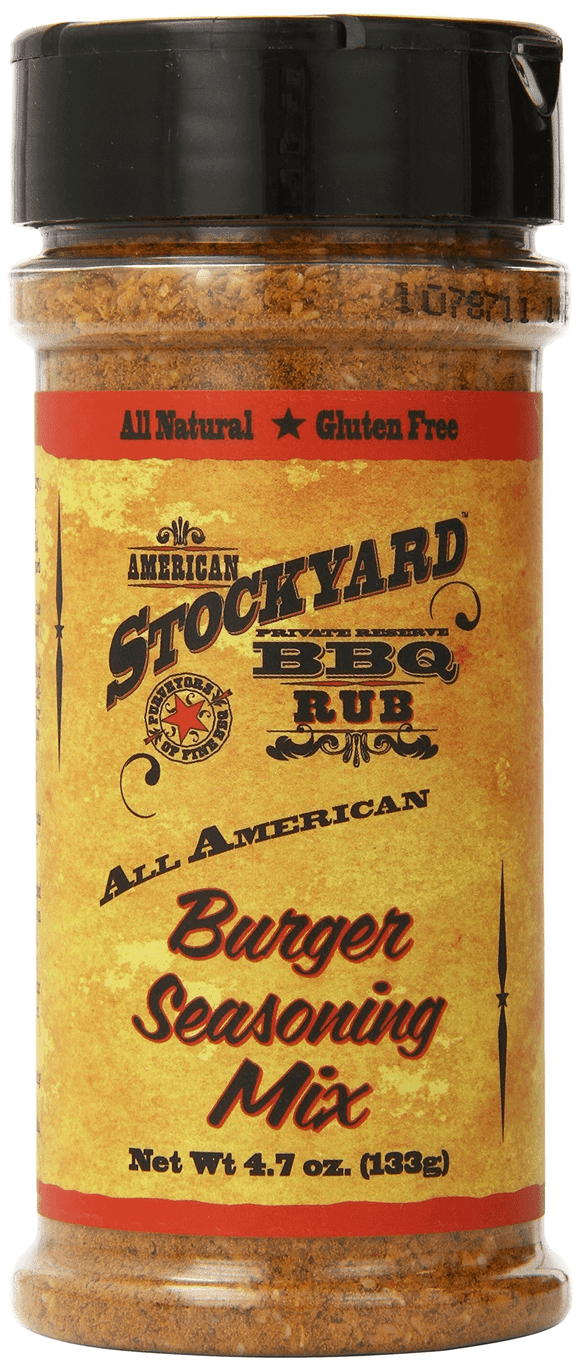 All American Burger Seasoning Mix Stockyard BBQ Rub
