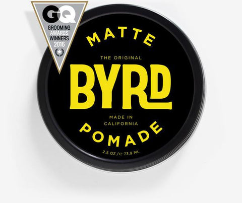 BYRD POMADE - MATTE POMADE - THE DIRTY