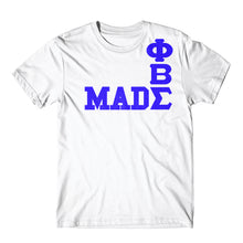 Load image into Gallery viewer, Phi Beta Sigma Made Tee