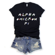 Load image into Gallery viewer, Alpha Omicron Pi Throwback Tee