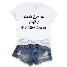 Load image into Gallery viewer, Delta Phi Epsilon Throwback Tee