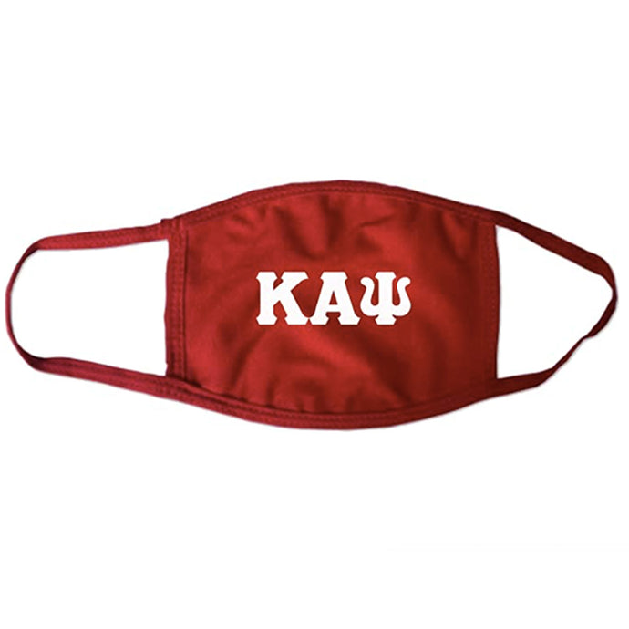 Kappa Alpha Psi Letter Face Mask