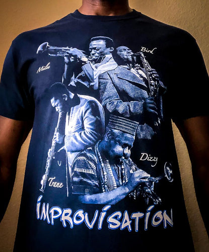 Improvisation - Jazz Legends Tee