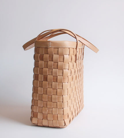 Tote Bag - Woven Natural