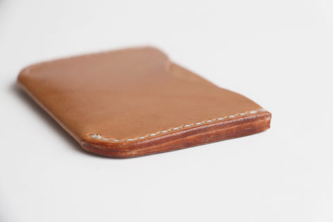 Double Card Holder - Natural