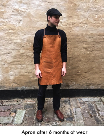 Leather Apron - Natural