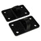 Jeep JK D Ring Bracket Mount Sold In Pairs For 07-18 Jeep Wrangler JK MBRP ( 131127 )