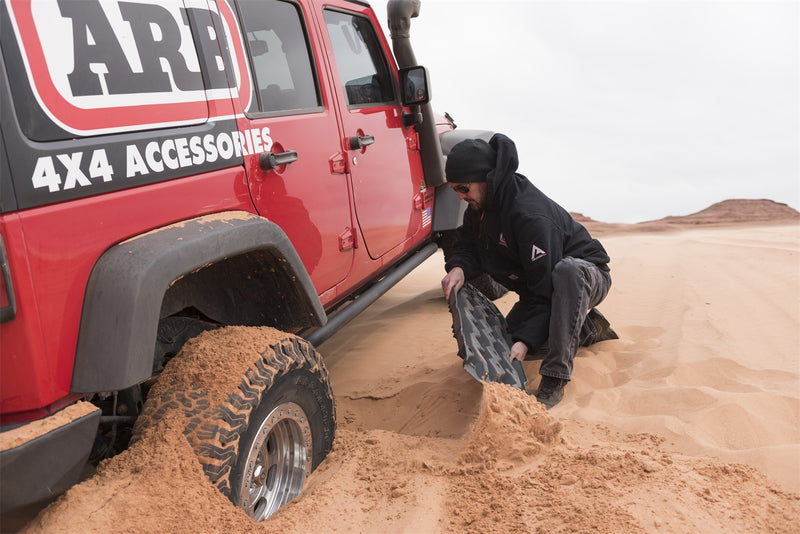 ARB Traction Ramp TRED Pro (Black With Black Teeth)  - TREDPROBB