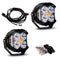 LP4 Pro LED Spot Clear Lens Pair Baja Designs ( 297801-FGXX )