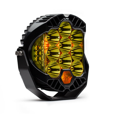 LED Light Pods High Speed Spot Pattern Amber LP9 Racer Edition Series Baja Designs ( 330011-FGXX )